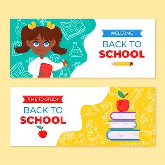 Volta para o modelo de banners de escola