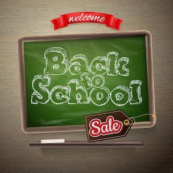 Volta para o modelo de venda de escola.