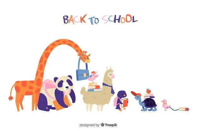 Voltar à coleção de animais da escola
