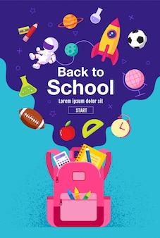 Voltar à página de destino da venda da escola