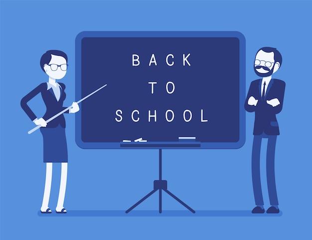 Voltar ao conselho escolar