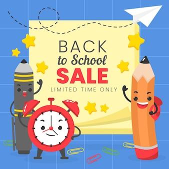 Voltar ao desenho de venda de escola
