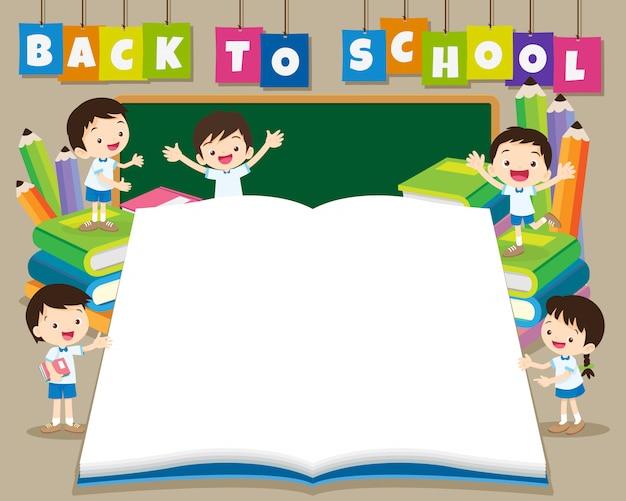 Voltar ao modelo de cartaz de escola