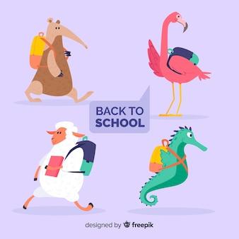 Voltar para a coleção de animais da escola