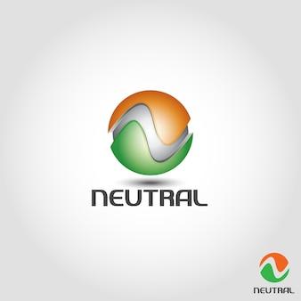 Vortexneutral é o logotipo da letra n