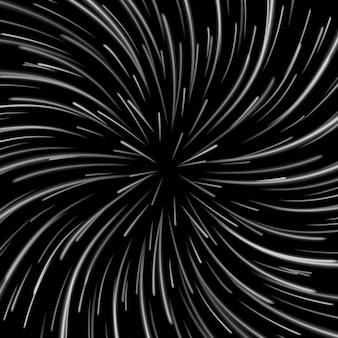 Vórtice de espaço no escuro