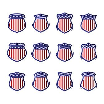 Votar escudo eleição de coleção