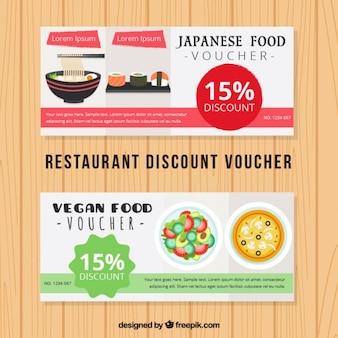 Voucher de desconto comida japonesa