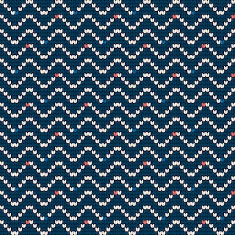 Vovó tricô padrão para camisola feia
