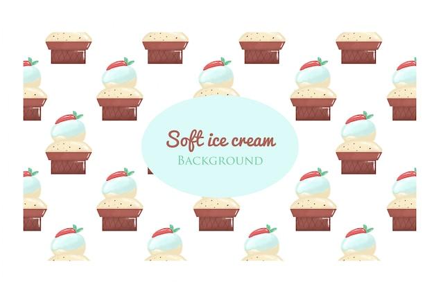 Waffle de sorvete