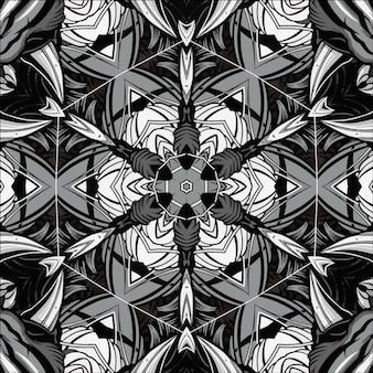 Wallpaper bonito do caleidoscópio. textura abstrata. ornamento para o seu projeto