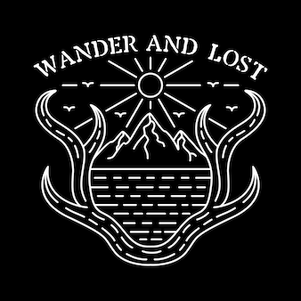 Wander and lost