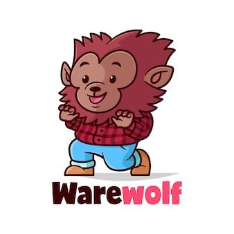 Warewolf bonito vestido camisa de flannel vermelho e calça jeans