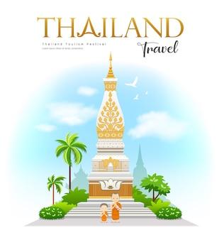 Wat phra that phanom, província de nakhon phanom