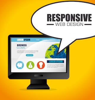 Web design responsivo.