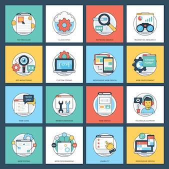 Web e pacote de desenvolvimento