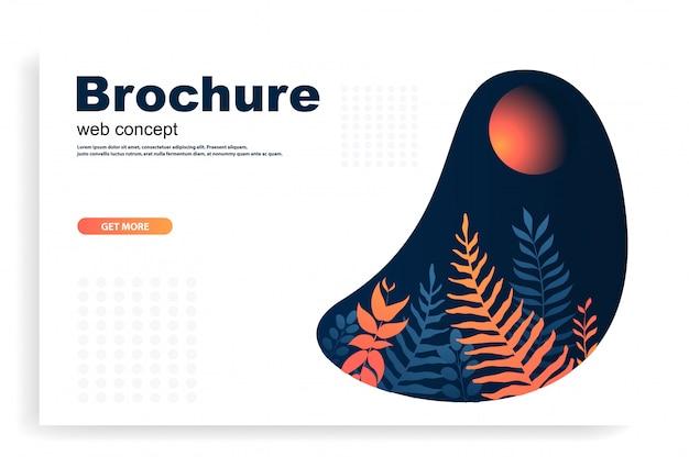 Web ou brochura