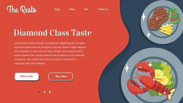 Website do restaurante