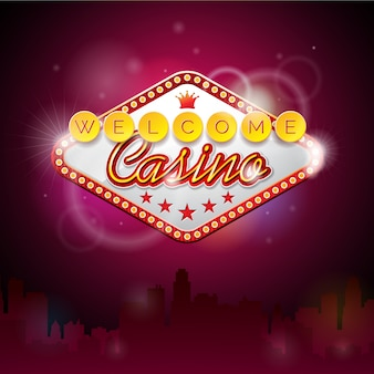 Welcome casino background
