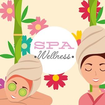 Wellness mulher spa