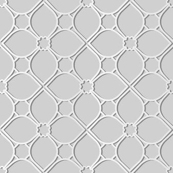 White paper art curve cross frame flower line, decoração elegante de fundo para cartão de banner web