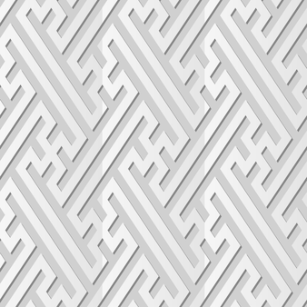White paper art spiral vortex cross tracery frame line, fundo de padrão de decoração elegante para cartão de banner da web
