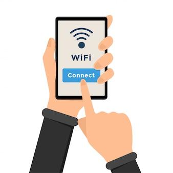 Wi-fi, conexão de internet sem fio