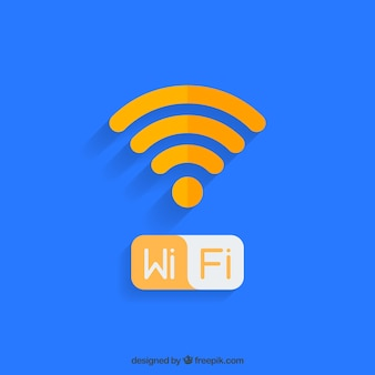 Wifi design de fundo