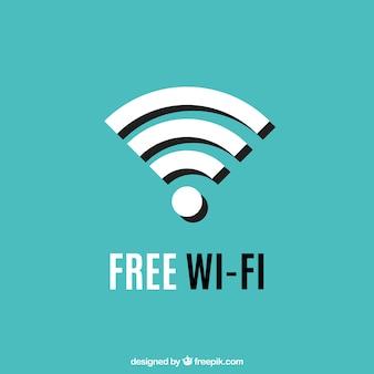 Wifi símbolo de fundo