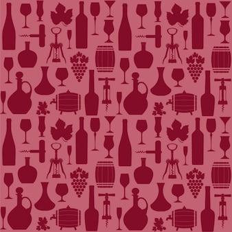 Wine padrão sem emenda