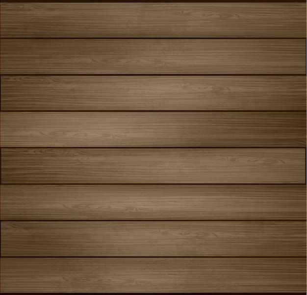 Wo ilustração fundo de madeira