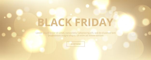 Wolden e elegan black banner de sexta-feira
