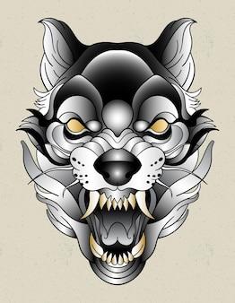 Wolf neotradicional