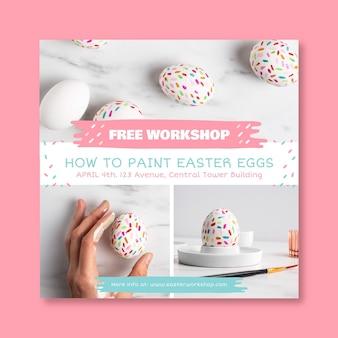Workshop de pastel fofo colagens de fotos de páscoa