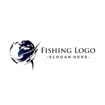 World fishing logo