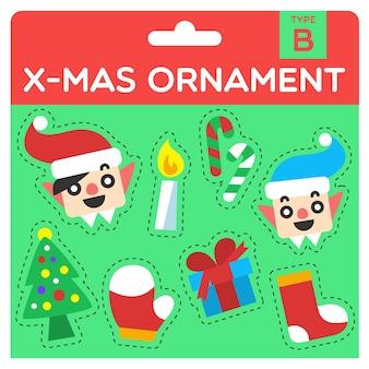 X-mas ornament type b