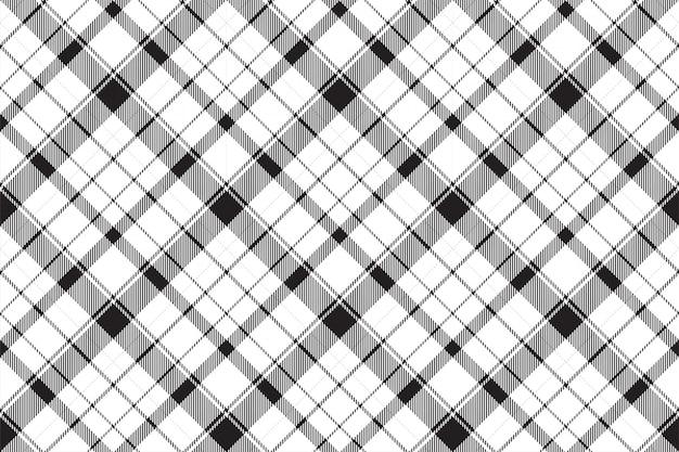 Xadrez escocês sem costura padrão tartan