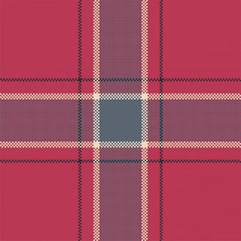 Xadrez moderno padrão sem emenda. tecido de textura quadrada. tartan escocês.