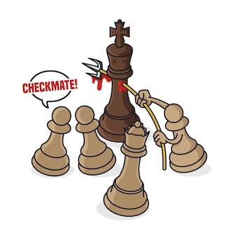 Xeque-mate de xadrez