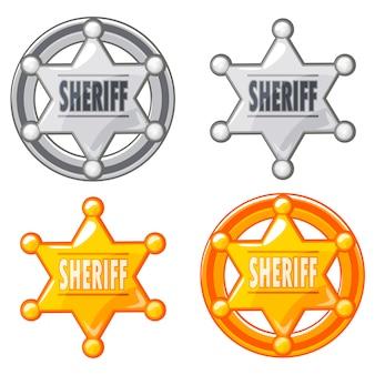 Xerife marechal estrela medalha de ouro e prata