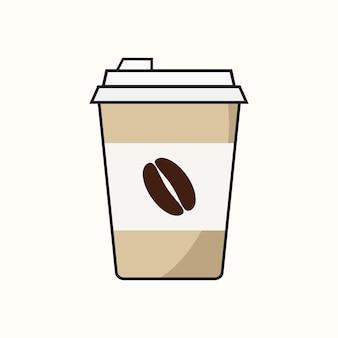 Xícara de café de papel