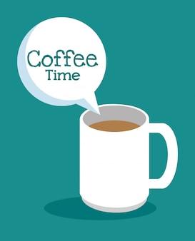 Xícara de café deliciosa