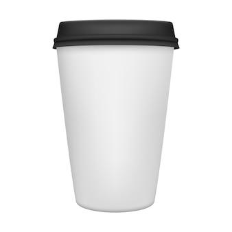 Xícara de café isolada