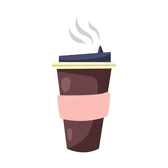 Xícara de café para viagem