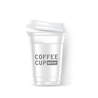 Xícara de café realista
