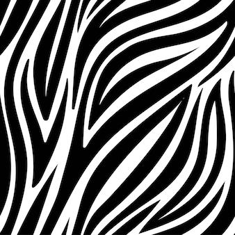 Zebra padrão moderno sem costura