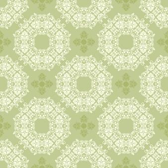 Zentangle estilo geométrico ornamento padrão
