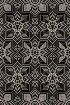 Zentangle estilo padrão geométrico