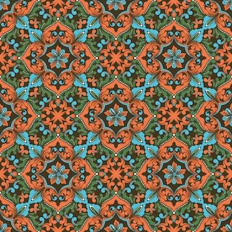 Zentangle padrão sem emenda