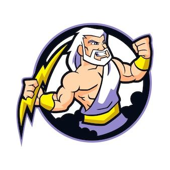 Zeus mascot design